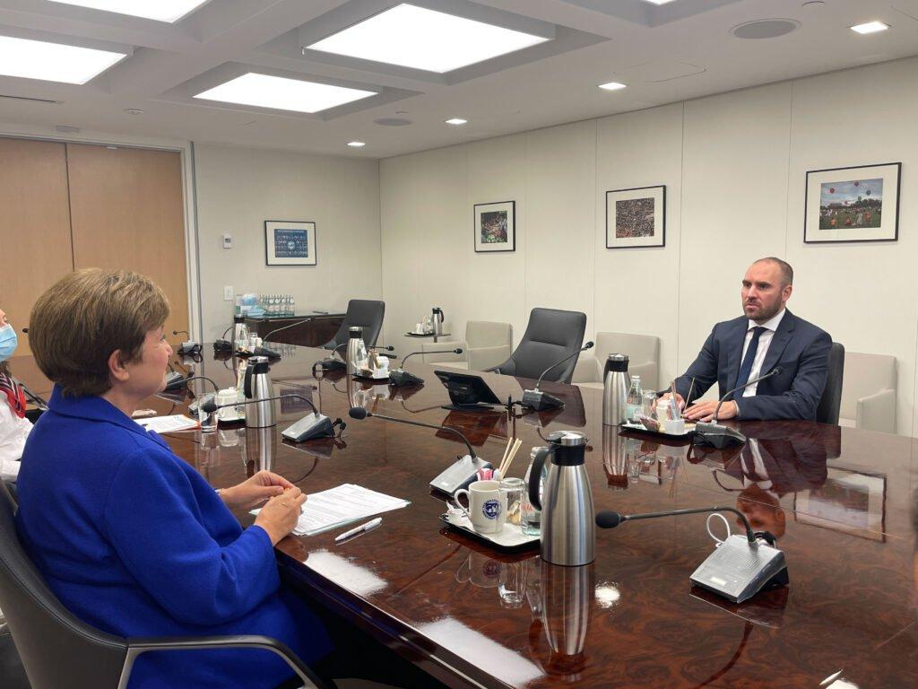 Guzmán y Georgieva, secretos de una reunión en Washington para definir la renegociación de la deuda