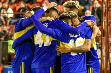 Boca venció a Huracán 3 a 0 y se ilusiona