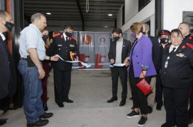 Axel Kicillof anunció que duplicará fondos para los bomberos voluntarios bonaerenses