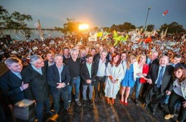 Día de la Lealtad   Alberto y Cristina llamaron a celebrar el 17 de octubre en todas las plazas del país