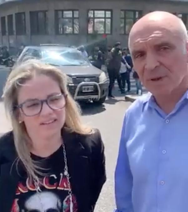 Tarde de locos en el centro porteño: Espert, a los insultos con piqueteros