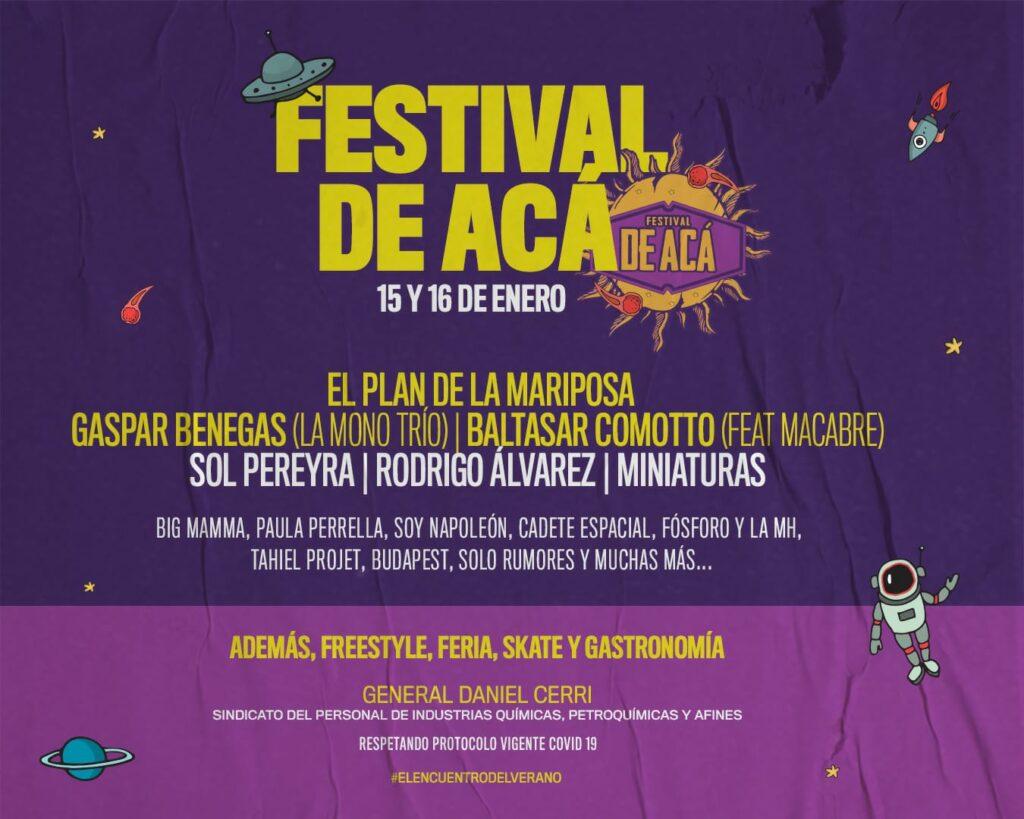 Un nuevo festival con proyección nacional: El festival 'De Acá'