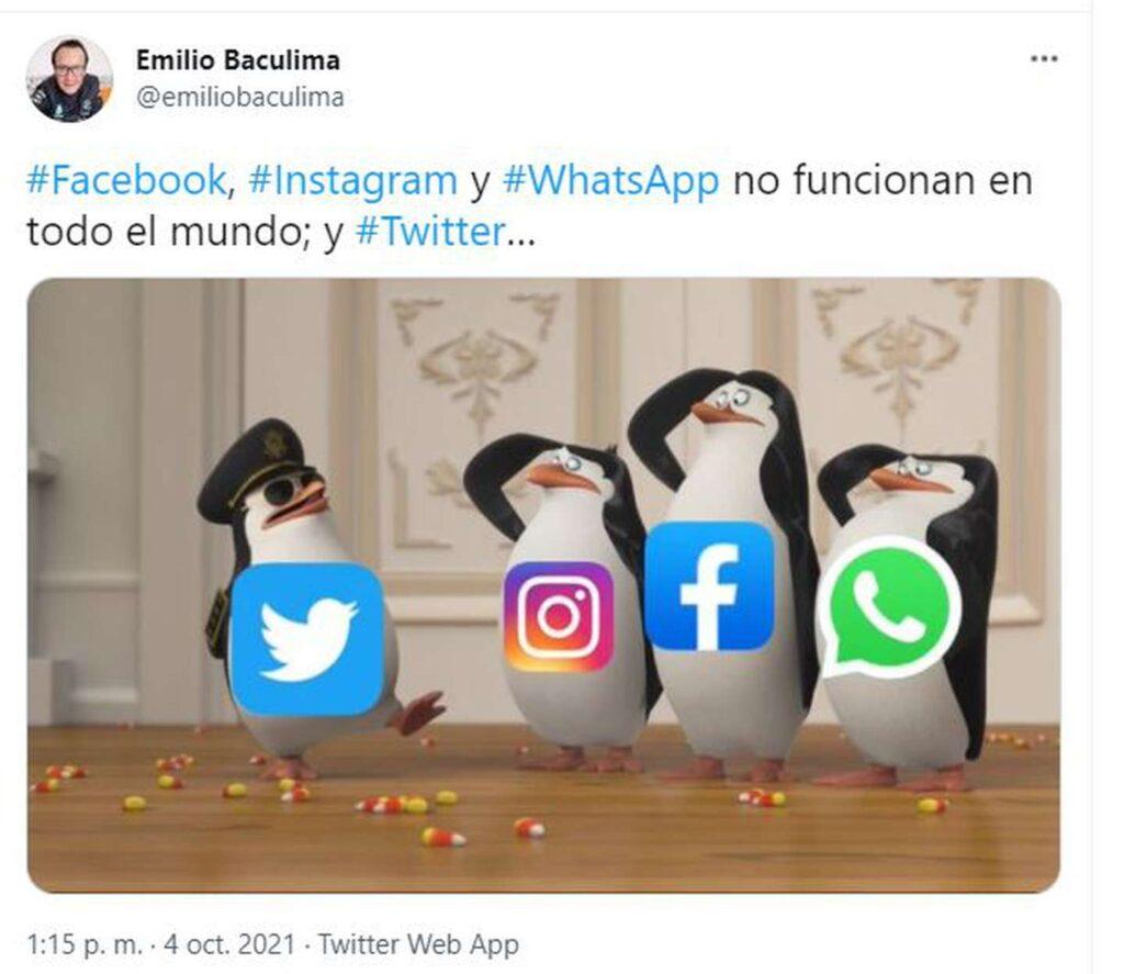 Alerta | Se cayeron los servicios de WhatsApp, Facebook e Instagram