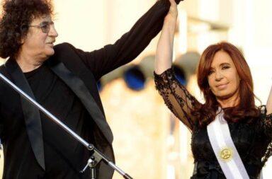 Cristina saludó a Charly por su cumpleaños: