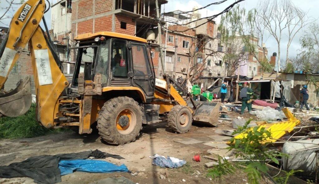 Las mujeres desalojadas de la Villa 31 marcharon por acceso a la vivienda y denunciaron amenazas por parte del Gobierno de la Ciudad