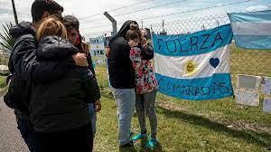 Damiliares de los fallecidos del ARA san Juan no participaron en la declaración de Macri en Dolores