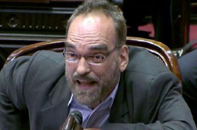 Fernando Iglesias nuevamente protagonista de un escándalo en diputados