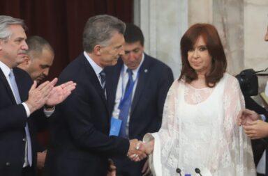 Crsitina Kirchner y Mauricio Macri
