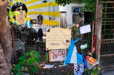 La casa natal de Maradona