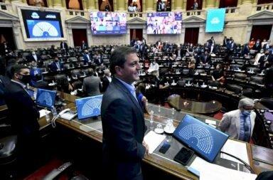 Sergio Masssa titular de la Cámara de Diputados