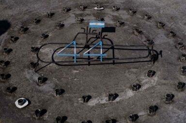 Un memorial para los 44 tripulantes del ARA San Juan