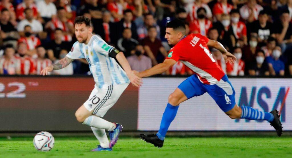 Argentina empató sin goles en Paraguay y sigue en la segunda posición en las eliminatorias