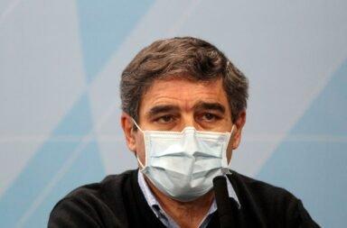 El ministro e salud porteño Fernan Quirós