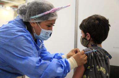 La Ciudad comenzó con el plan de vacunacion contra el covid-19 de los chicos de 3 a 11 años sin condiciones priorizadas